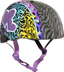 Raskullz Wild Gurrlz Helmet, Multicolored, Ages 5