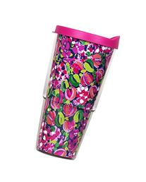 Lilly Pulitzer Wild Confetti Insulated Tumbler with Lid,