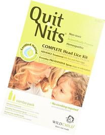 Quit Nits Natural Complete Head Lice Removal Kit, Kills and