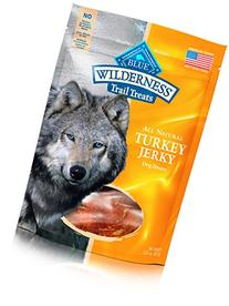 Blue Buffalo Wilderness Grain-Free Turkey Dog Jerky Treats,