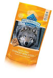 BLUE Wilderness Trail Treats Grain Free Turkey Biscuits Dog