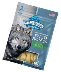 BLUE Wilderness Dental Chews Grain Free Wild Bones Dental