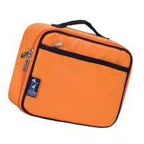 Wildkin 33502 Solid Color Collection - Navel Orange Lunch