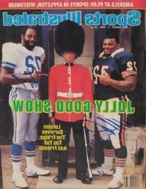 """The Refridgerator"" William Perry & Ed ""Too Tall"" Jones"