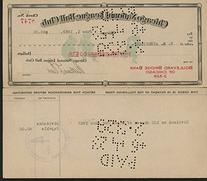 William Veeck Sr. Signed Chicago Cubs Payroll Check Dated
