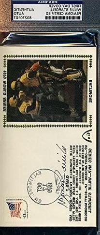 Willie Stargell Signed Psa/dna 1979 World Series Fdc