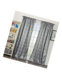kensie 'Nellibee' Blackout Window Panels - Grey