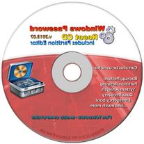 LATEST VERSION 2015.07 Recovery Boot Password Reset CD Plus