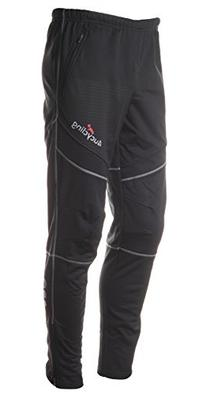 4ucycling men's athletic active thermal pants black Xl-