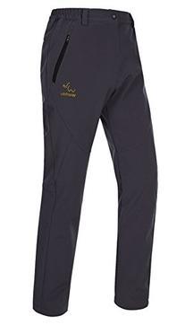 Wantdo Women's Windproof Cargo Snow Pants Fleece Ski Pant