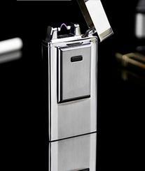 Windproof Flameless Electronic Pulse Arc Cigarette Lighter