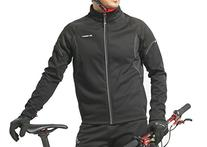 Windproof Full Zip Wind Jacket with 3-layers Composite