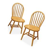 Windsor Chair, Set of 2, Multiple Finishes
