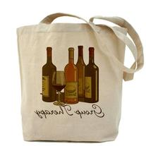 CafePress - Wine Group Therapy 1 Tote Bag - Natural Canvas
