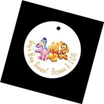 Set of 10 Winnie the Pooh Baby Shower Favor Tags/Party Tags