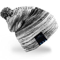 Mydeal Winter Fashion Bluetooth Beanie Hat Pom Pom Knit
