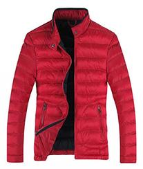 Wantdo Men's Winter Cotton-Padded Puffer Jacket X-Small Red