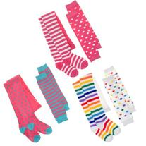 Angelina 3-Pack Girls Winter Tights and Mix-Match Leg/Arm