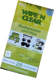 Flents Wipe N Clear Individually Wrapped, Biodegradable Lens