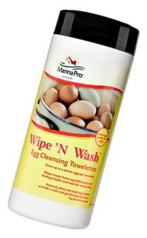 Wipe N Wash Egg Cleansing Towelettes - 25 ct