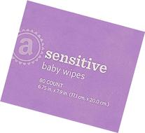 Amazon Elements Baby Wipes, Sensitive, Flip-Top Packs, 480