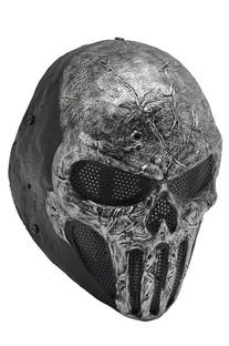 FMA New Wire Mesh Gray Skull Full Face Protection Paintball