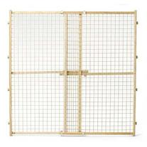MidWest Wire Mesh Pet Gate, 29 Inches to 50 Inches wide by