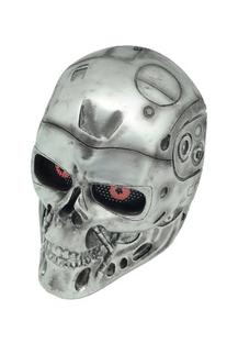 FMA New Wire Mesh Silver T800 Terminator Full Face