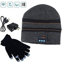 Moretek Wireless Bluetooth Beanie Hat Cap Hat with