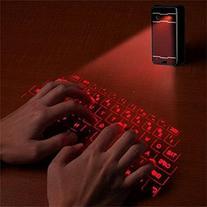 iNextStation Wireless Bluetooth Projection Virtual Keyboard,
