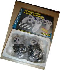 Wireless Controllers with Dual Shock - PlayStation