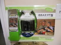TV Ears 2.3 MHZ Wireless Headset System with 10 Replacement