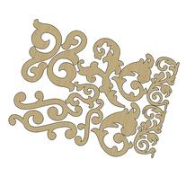 Wisteria Laser-Cut Wood Shapes-Flourishes