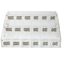 Wiz Dice Polyhedral Dice Organizer - 18 Different Labeled