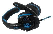 Sades Wolfang Wired Gaming Headset with 7.1 Surround Stereo