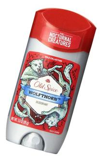 Old Spice Wild Collection Deodorant, Wolfthorn Scent, 3