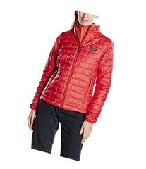 Patagonia Women's Nano Puff Jacket, Large, French Red