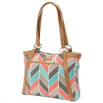 Women's Pleated Laptop Tote