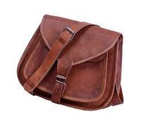"Komal's Passion Leather 10"" Women's Leather Purse Satchel"