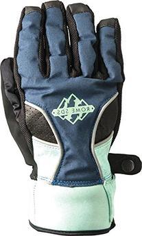Rome Snowboards Women's Reign Gloves, Navy, Medium