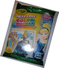 Crayola Color Wonder - Disney Princess Glitter Paper &