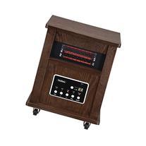 VonHaus Wood Electric 4 Element Infrared Fan Heater with