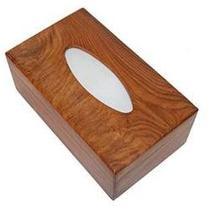 SouvNear Natural Wood Tissue Box Cover - Cool, Perfect-Fit