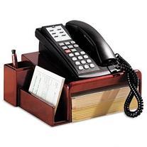 Rolodex Wood Tones Mahogany Phone Stand