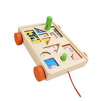 Baby Kids Wooden Educational Learning Puzze Building Blocks