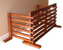 Wooden Folding Pet Gate