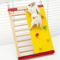 Gold Wing Wooden Funny Climbing Ladder Toy for Hamsters