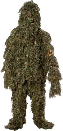 Modern Warrior Woodland and Forest Design Ghillie Suit, 3-