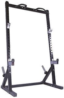 Powertec Fitness Workbench Half Rack, Black