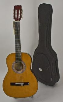 "Quality 3/4 Size 36"" Nylon String Guitar, Strap, Picks &"